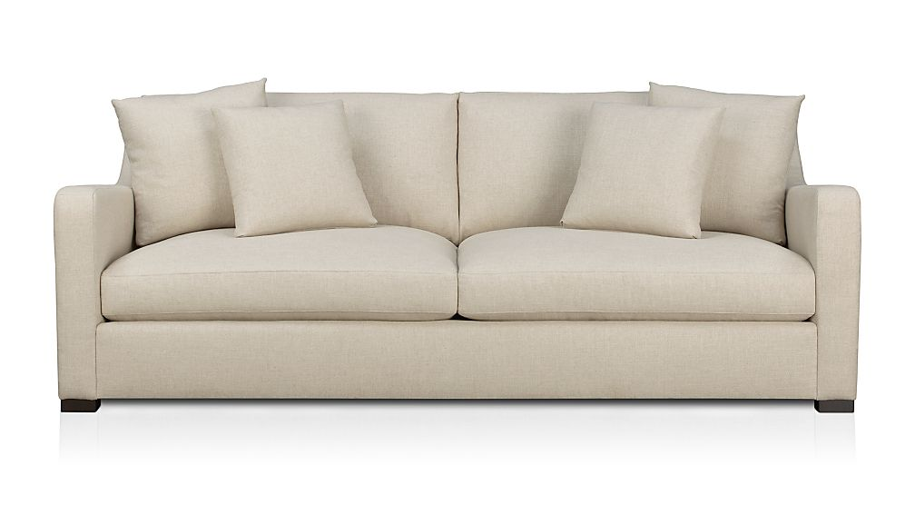Crate And Barrel Sofas Lounge Ii Pee 93 Sofa Crate And