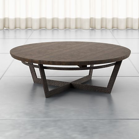 Verdad Wood Top Coffee Table Reviews Crate And Barrel Canada