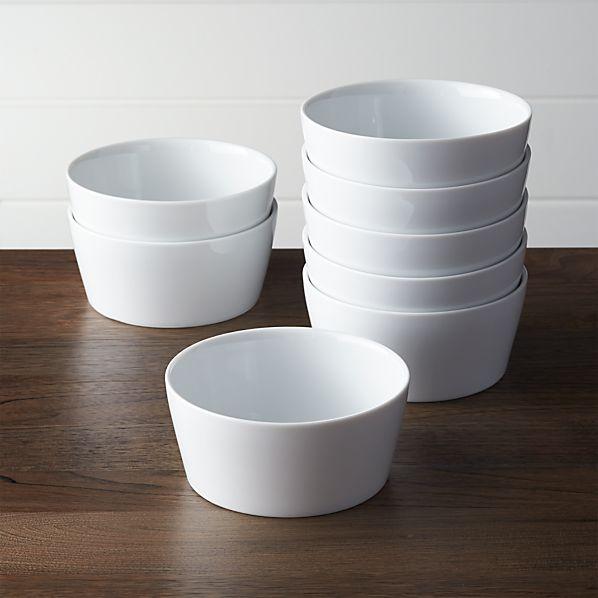Set of 8 Verge Bowls