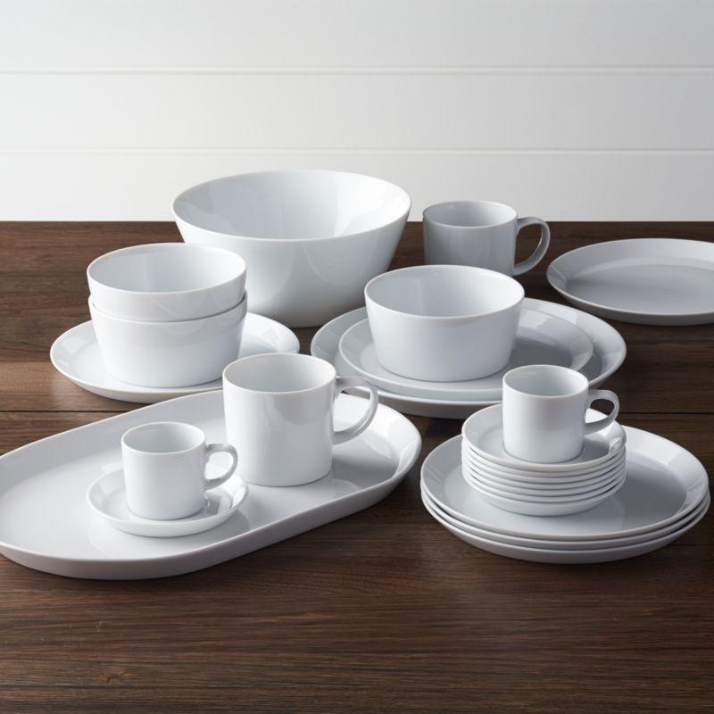 & Verge Dinnerware | Crate and Barrel