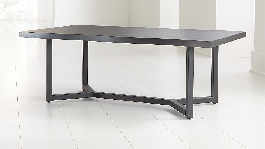 Verge Black Live Edge Coffee Table - Image 1 of 7