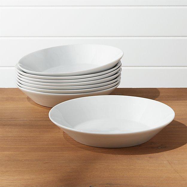 Verge Low Bowls, Set of 8 - Image 1 of 2