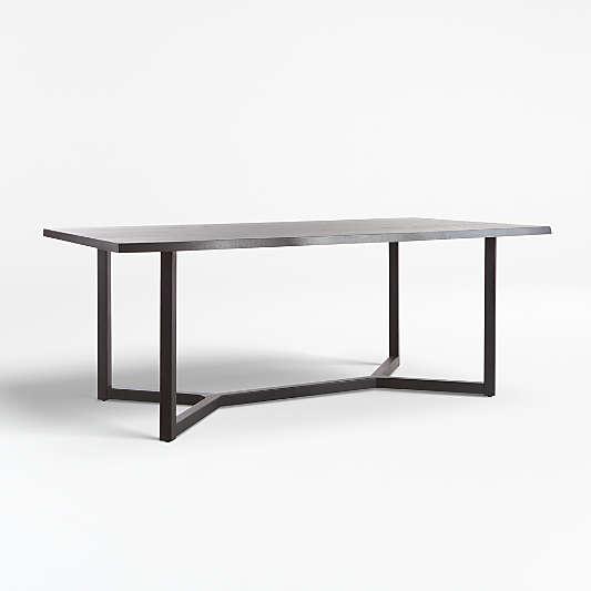 Verge Black Live Edge Dining Tables