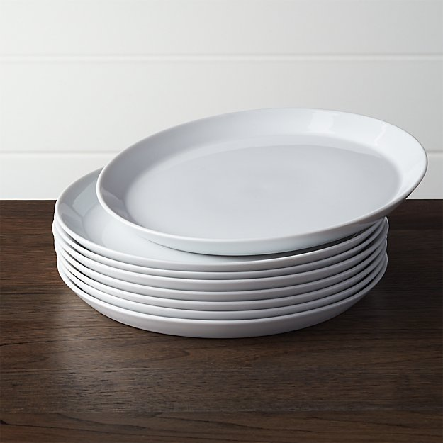 Set of 8 Verge Salad Plates - Image 1 of 7