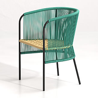 Verro Green Outdoor Dining Chair