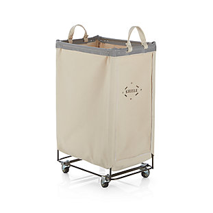 Steele 174 Divided Canvas Sorter Crate And Barrel