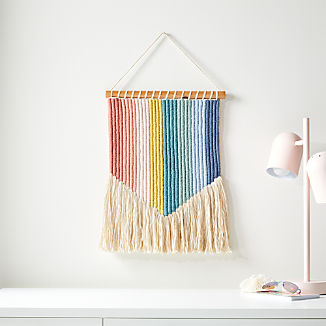 Vertical Rainbow Wall Hanging