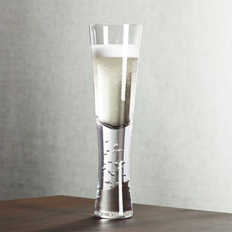 Verve Champagne Glass Reviews Crate And Barrel
