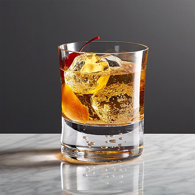 Verve Double Old-Fashioned Glass