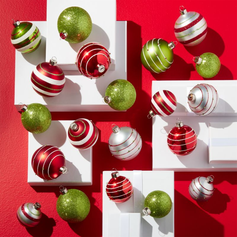 Very Merry Ball Ornaments Set Of 20