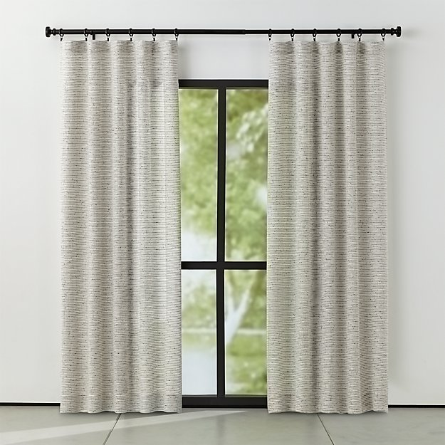 Vesta Textured Curtains Crate And Barrel