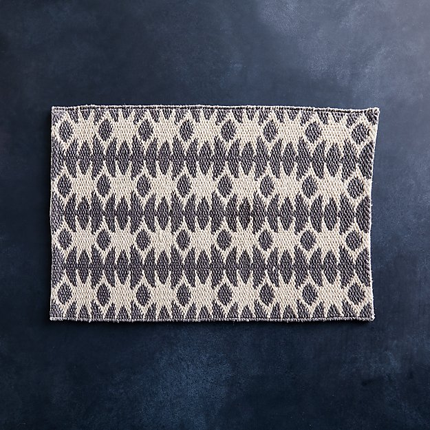 Vibe Grey Geometric Placemat - Image 1 of 4