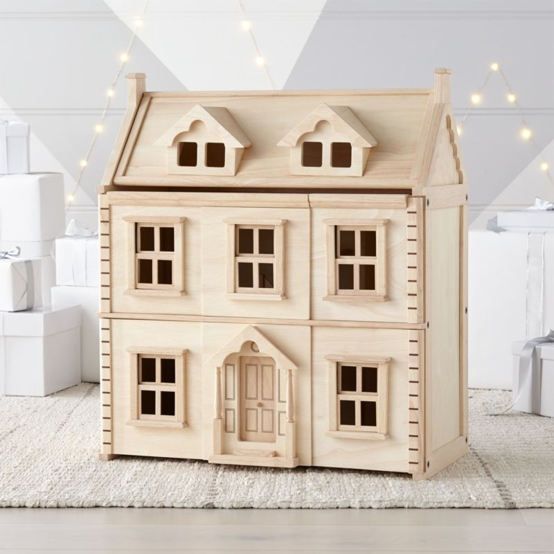 Plan Toys Victorian Dollhouse Reviews Crate And Barrel