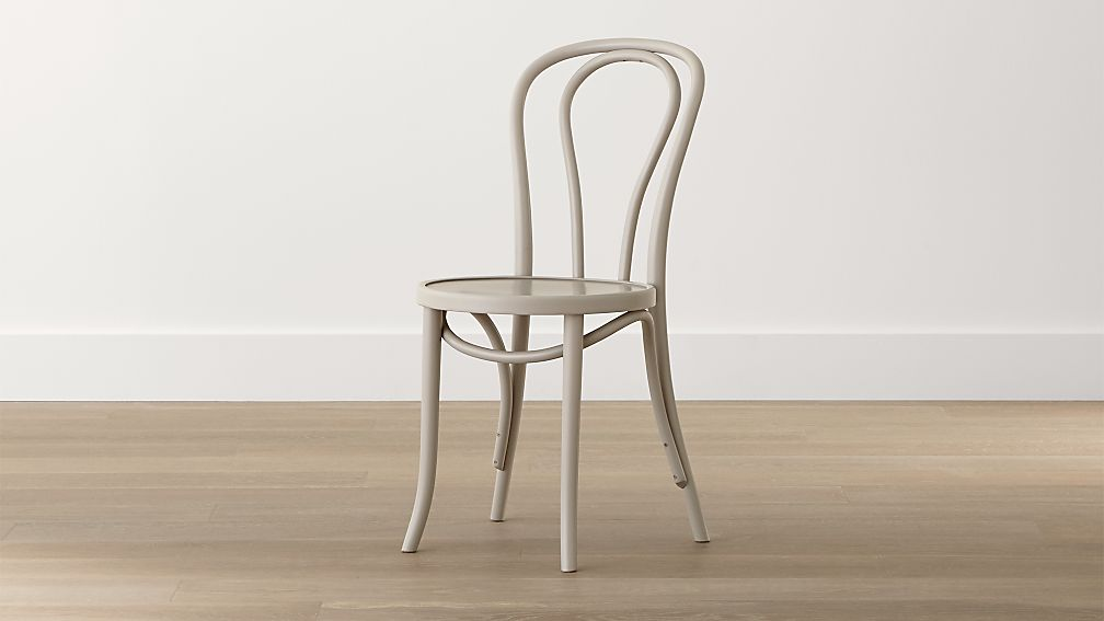 Vienna Dove Wood Dining Chair