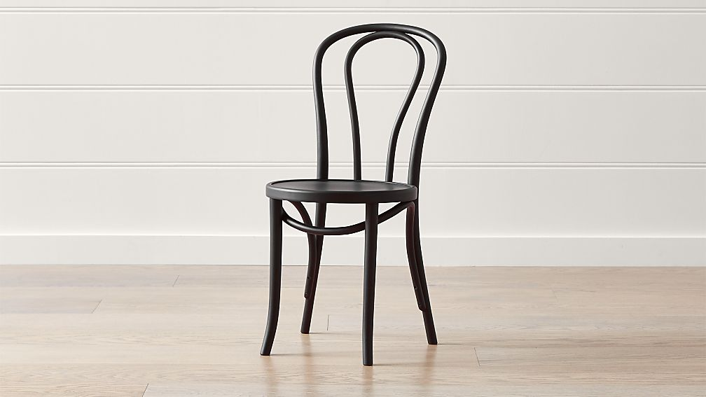 Vienna Matte Black Dining Chair - Image 1 of 7