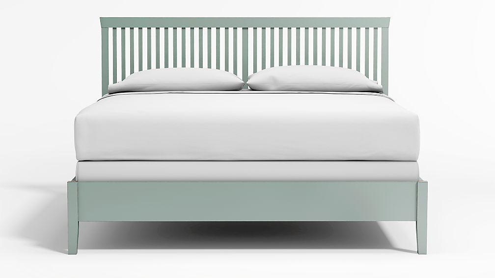 Village Blue Grey King Bed - Image 1 of 4
