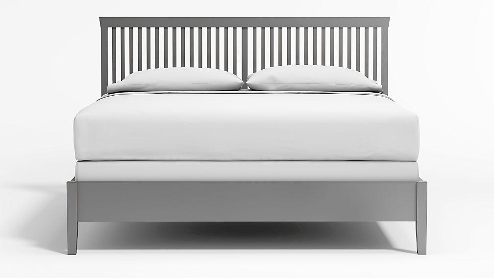 Village Grey King Bed - Image 1 of 4