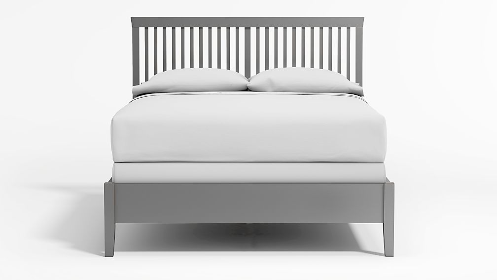 Village Grey Queen Bed - Image 1 of 4
