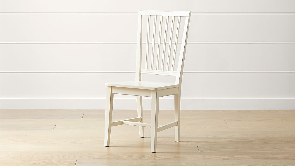 Village Dama Wood Dining Chair - Image 1 of 6