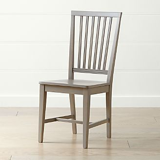 97e060d5f55f Village Pinot Grigio Wood Dining Chair