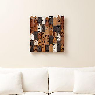 Village Wood Wall Art