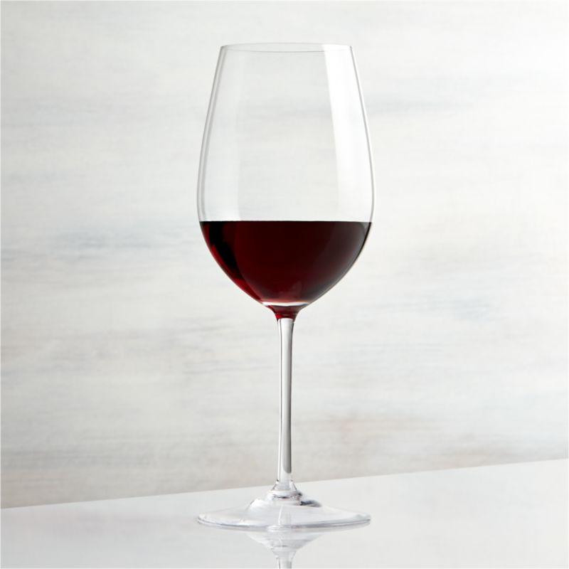 1d6e8ff6bb7 Vineyard 22 oz. Bordeaux Wine Glass + Reviews | Crate and Barrel