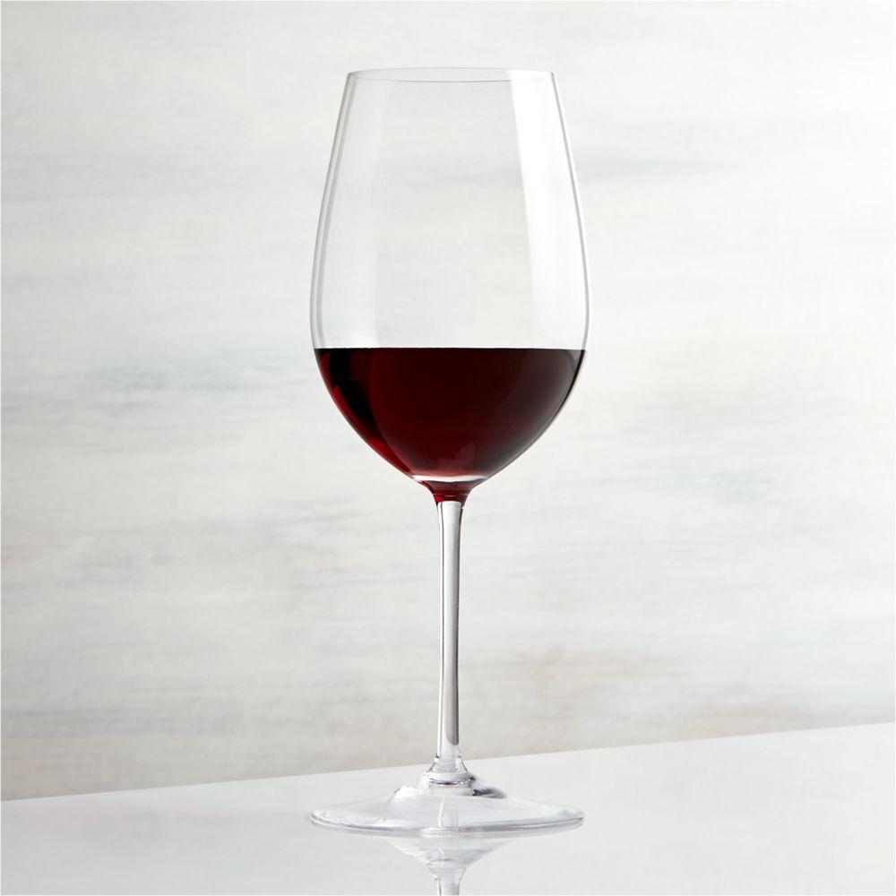 Vineyard 22 oz. Bordeaux Wine Glass - Crate and Barrel