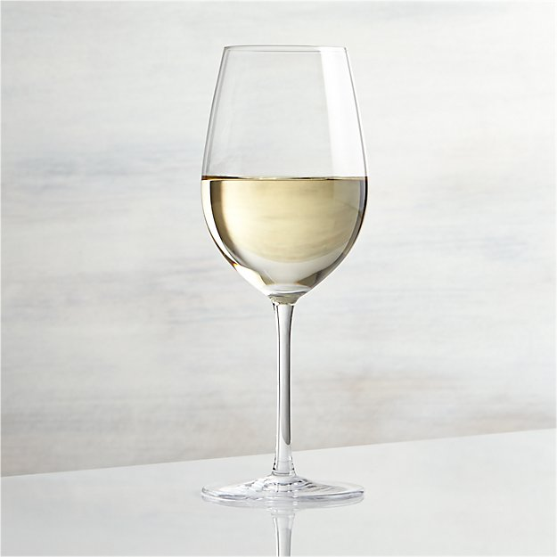 Vineyard White Wine Glass Crate And Barrel