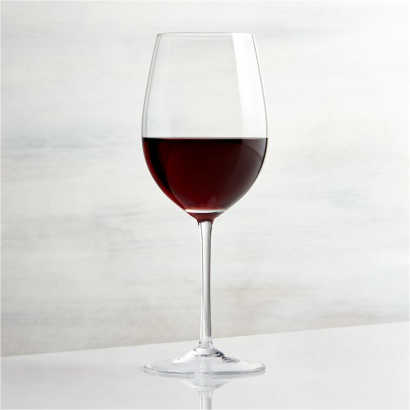 Great wines deserve the right glass to bring out their distinct aromas and tastes. Our Vineyard wine glass collection offers a suite of glasses, each crafted with specially shaped bowls to enhance enjoyment of white, red and sparkling wines. The fuller and rounder bowl of the Zinfandel glass provides deep reds with plenty of surface area to aerate and to allow deep sniffs of their rich aromas. Each elegantly shaped glass is handcrafted by highly skilled European glassmakers.<br /><br /><NEWTAG/><ul><li>Glass</li><li>15 oz.</li><li>Handcrafted</li><li>Hand wash</li><li>Made in Czech Republic</li></ul>