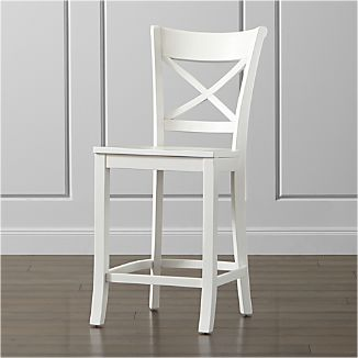Superieur Vintner White Counter Stool