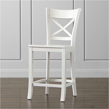 Wondrous Vintner White Counter Stool Bralicious Painted Fabric Chair Ideas Braliciousco