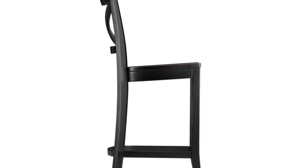 Vintner Black Counter Stool