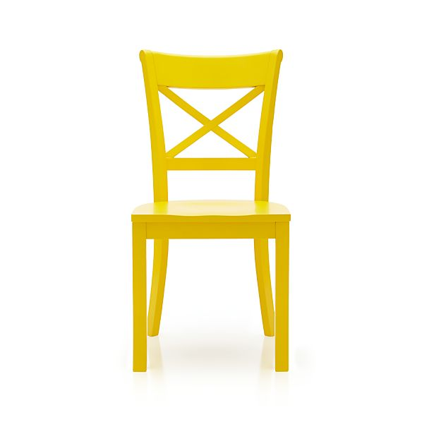 Vintner Side Chair Yellow