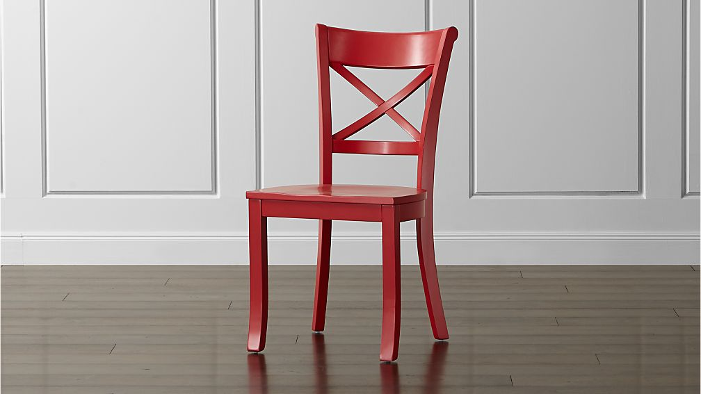 Vintner Red Wood Dining Chair