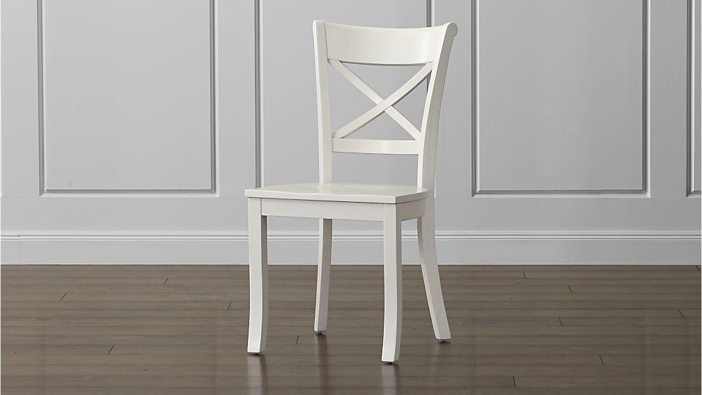 Vintner White Wood Dining Chair