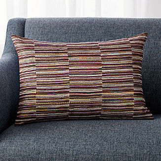 Purple Throw Pillows Crate And Barrel