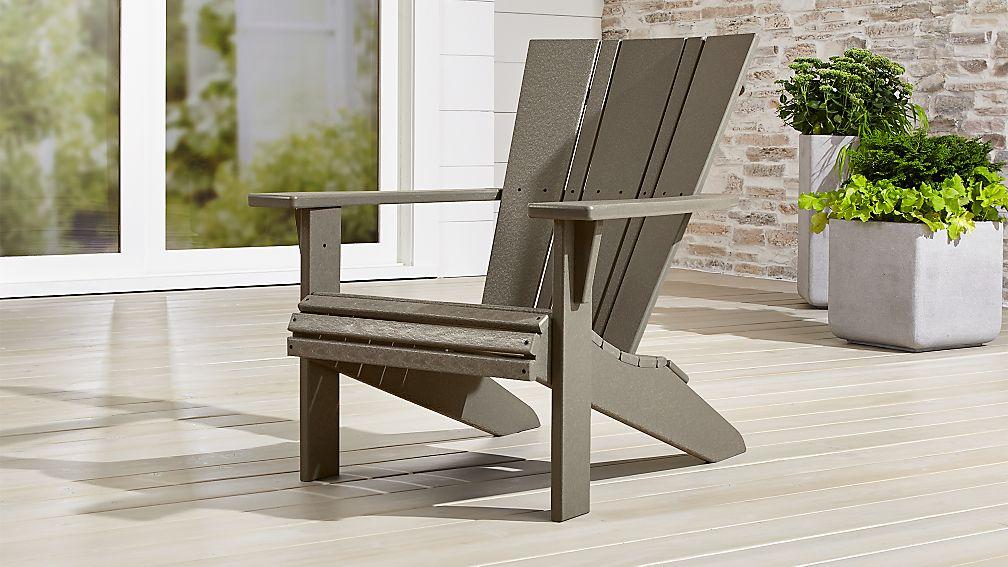 Vista II Slate Grey Adirondack Chair - Image 1 of 11