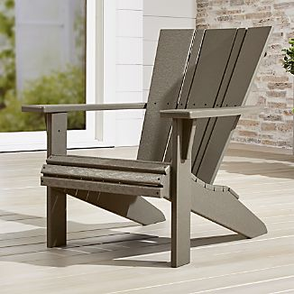 outdoor metal chair. Vista II Adirondack Chair Outdoor Metal