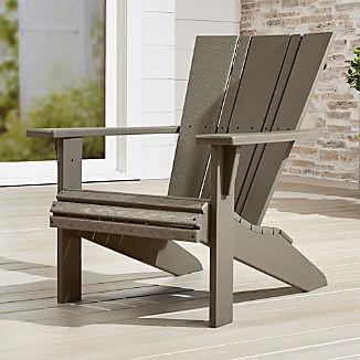 Vista II Slate Grey Adirondack Chair