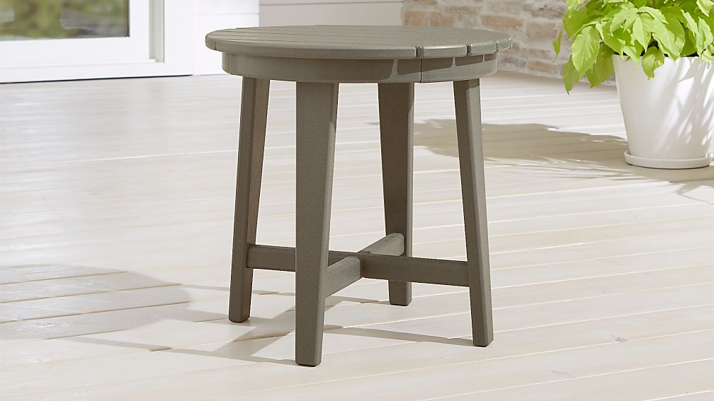 Vista II Slate Grey Adirondack Side Table - Image 1 of 4