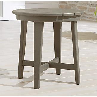 Vista II Slate Grey Adirondack Side Table