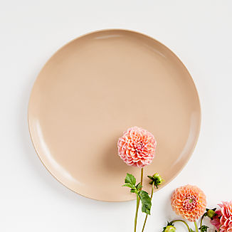 Visto Blush Stoneware Dinner Plate