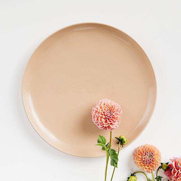 Visto Blush Stoneware Dinner Plate - Image 1 of 4