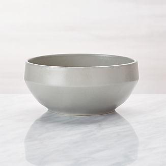 Visto Grey Stoneware Cereal Bowl