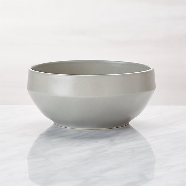 Visto Grey Stoneware Cereal Bowl - Image 1 of 7