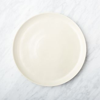 Visto Cream Stoneware Dinner Plate