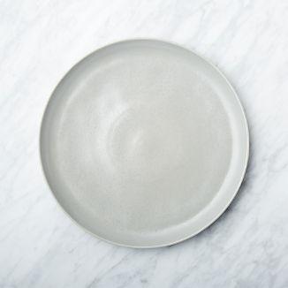 Visto Grey Stoneware Dinner Plate