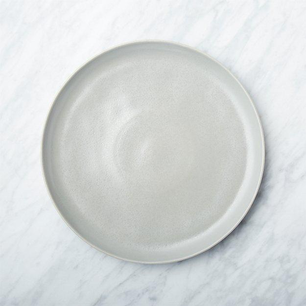 Visto Grey Stoneware Dinner Plate - Image 1 of 7