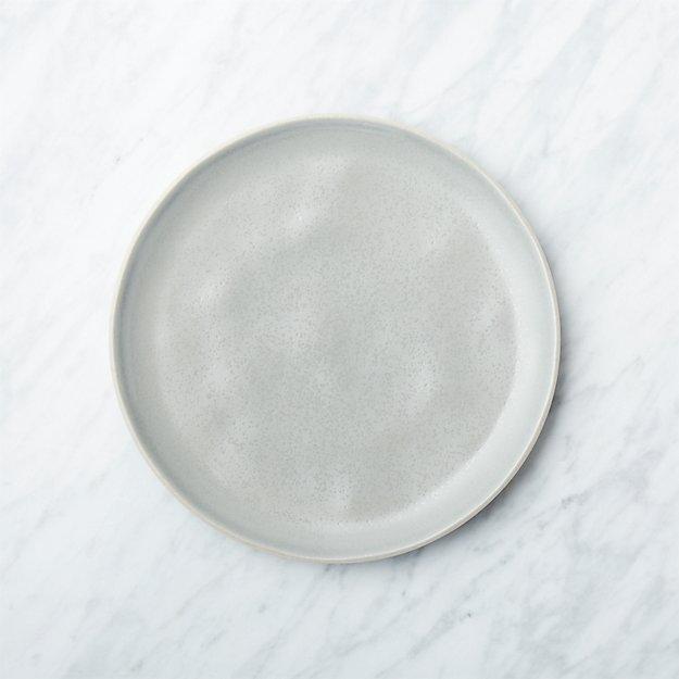 Visto Grey Stoneware Salad Plate - Image 1 of 7
