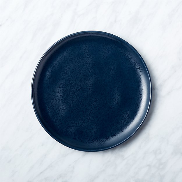 Visto Navy Stoneware Salad Plate - Image 1 of 10